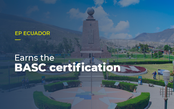 EP Ecuador earns the BASC certification