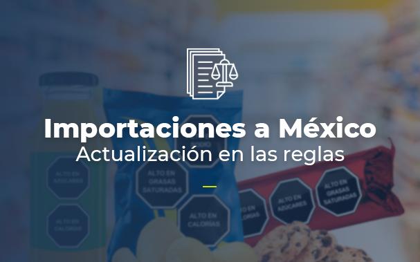 Importaciones a México